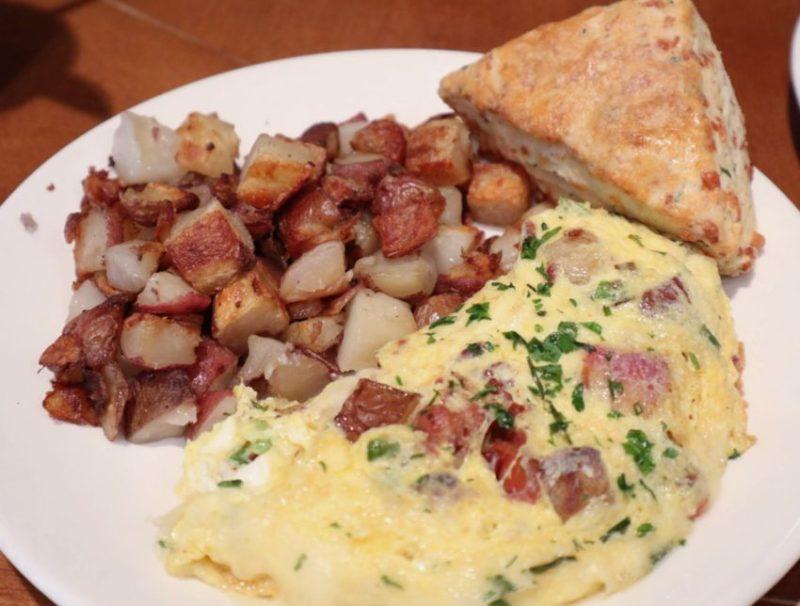 Food Dance Kalamazoo - do-si-do omelet and scone