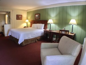 Guest room at Salt Fork Lodge